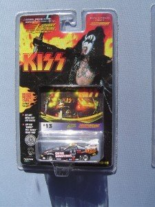 Johnny Lightning Gene Simmons Die-Cast Kiss Card  #13
