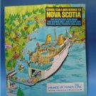 1974 Nova Scotia Prince Fundy Cruise Line Travel Brochu