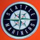 "Seattle Mariners Baseball Cloth Jacket Patch 5"" Round"