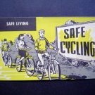 1950s Bicycle Inst of America Safe Cycling Brochure