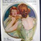 March 1918 Modern Priscilla Magazine Pretty Woman
