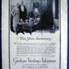 Jan 1921 Gorham Sterling Silverware Harper Advertisment