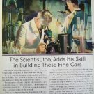 OLDSMOBILE SIX VIKING EIGHT SCIENCE CARS 1930S AD