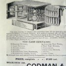 CODMAN SURGICAL INSTRUMENTS UNINARY TEST CASE 1895 AD