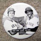 "Fred Lynn & Jim Rice Boston Red Sox Pin 3"""