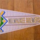 Milwaukee Brewers New Baseball Pennant 1990's Wincraft