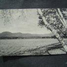 Lake Onata  Pittsfield  Mass Post Card
