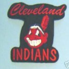 "Cleveland Indians Baseball Cloth 4"" Patch Chief Wahoo"