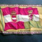 Circa 1900 Austro Hungray Tobacco Nation Flg Felt Blank