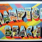 Greeting From Hampton Beach New Hampshire