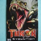 Video Booklet Manual ONLY Playstation Turok Evolution
