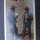 Amish Men Lancaster County Pa Linen Post Card NM