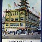 Sing Fat Co Leading Oriental Bazaar San Francisco CAL