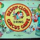 Vintage 1952 Reddy Clown 3 Ring Circus Game Parker Bros