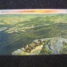 Page Valley from Stony Man Mountain Va Linen Postcard