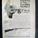 1914 King Air Rifles St Nicholas Advertisement