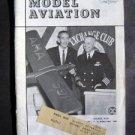 Model Aviation Jan 1962  ~ Academy of Model Aeronautics