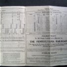 1930 Long Island Railroad Time Table Montauk Division