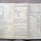 Canadian Pacific Princess Lines Sea Routes Table 1951