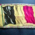 Circa 1900 Belgium Tobacco National Flag Felt Blanket
