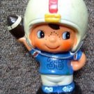 "Ceramic Football Player Bank 6"" Tall"