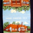 Moore's Brick Cottages ~ Va.  Matchbook Matchcover
