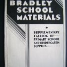 1920-30s Milton Bradley Game School Educational Catalog