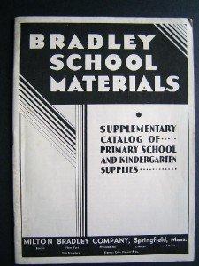 1920-30s Milton Bradley Game School Educational Catalog