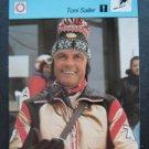 1977-1979 Sportscaster Card Alpine Skiing Toni Sailer 18-08