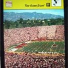 1977-1979 Sportscaster Card Football The Rose Bowl 09-22