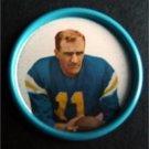 1962 Salada Junket Football Coin #136 Ed Songin New York Titans