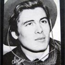 Arcade Exhibit Card 1960s Western Cowboy Chriss James