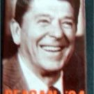 """Ronald Reagan 1984 Presidential Political Pin """"Reagan in '84"""" 3"""" by 2"""" Rectanlge"""