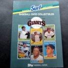 1988 San Francisco Giants Surf Topps Baseball Card Collectibles Book