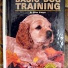 Basic Dog Training Book by Miller Watson 1989 with Photos & Drawings