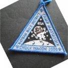 """Nathan Hale District Camp Mattatuck Chuck Wagon 2000 Boy Scout BSA Patch 3 1/4"""""""