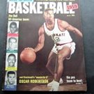1959 Dell Sports Basketball Oscar Robertson cover Dell All America Jerry West