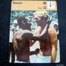 1977-1979 Sportscaster Card Soccer Pele 10-12