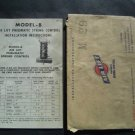 1940s Air Lift Pneumatic Spring Control Model-B Auto Truck Installation Manual