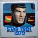 Stardate 1979 Star Trek Calendar Original TV Series
