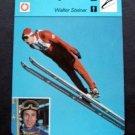 1977-1979 Sportscaster Card Nordic Skiing Walter Steiner 12-21