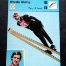 1977-1979 Sportscaster Card Nordic Skiing Hans Schmid 17-11
