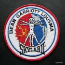 "NASA SkyLab II Embroidered Patch 4"" Round Bean Garriott Lousma"