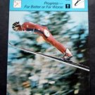 1977-1979 Sportscaster Card Nordic Skiing Progress For Better or Worse 01-12