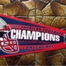 2003 New England Patriots AFC Champs NFL Football Pennant