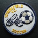 "Springfield Y. C. Youth Club Soccer Cloth Patch 3"" Round"