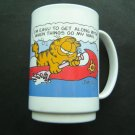 Garfield McDonald's Plastic Cup I'm Easy to Get Along With When Things Go My Way