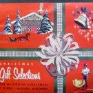 VINTAGE 1957 THE WISCONSIN CHEESEMAN CHRISTMAS CATALOG