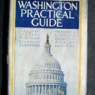 Vintage 1922 Washington D C Practical Guide Book 95 Illustrations with Map