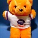 "New York Giants Football Orange 8"" Teddy Bear Plush"